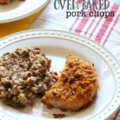 Cajun Oven Baked Pork Chops