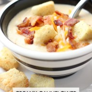 Creamy Cauliflower Chowder