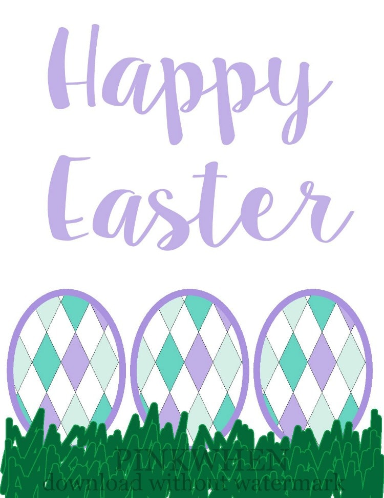 Easter Printable-with watermark