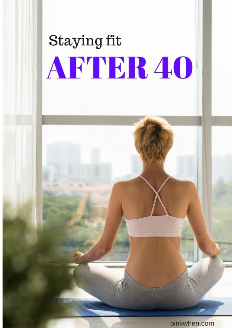 As a mom of 4, I know that staying fit after 40 can be a challenge, but it doesn't have to be. It's a recipe of different factors that can help you gain and maintain a healthy lifestyle.