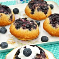 Upside-Down Blueberry Puffs Brunch Recipe