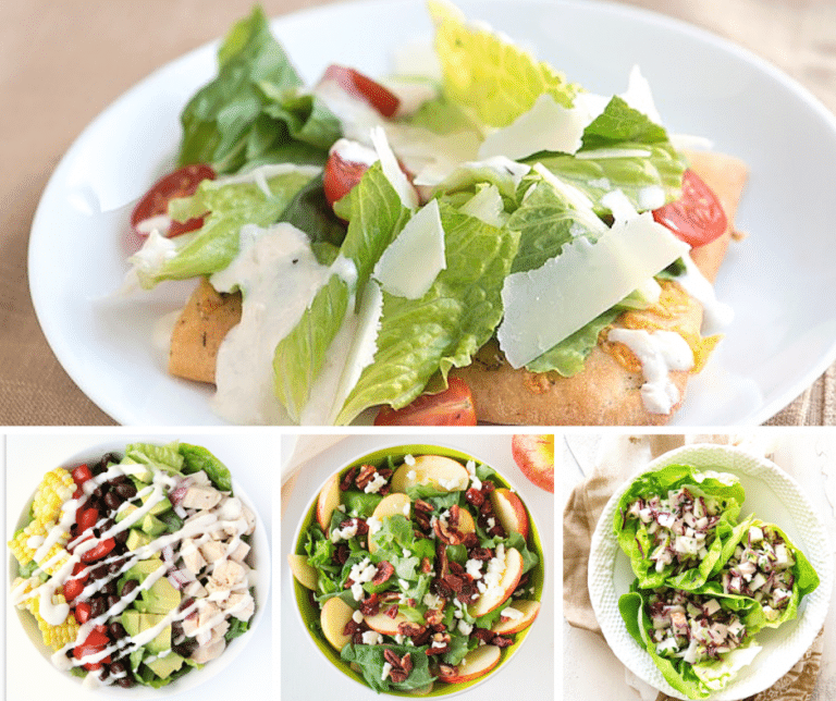 31 Fresh Salad Recipes that are PERFECT for Spring and Summer noshing.