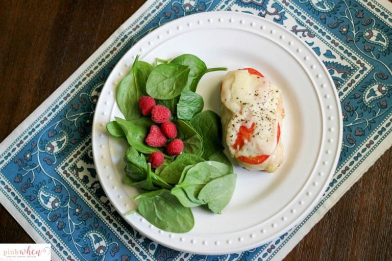 Basil Infused Balsamic Oven Baked Chicken