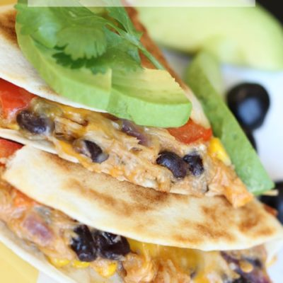 Cheesy Cowboy Quesadillas Recipe