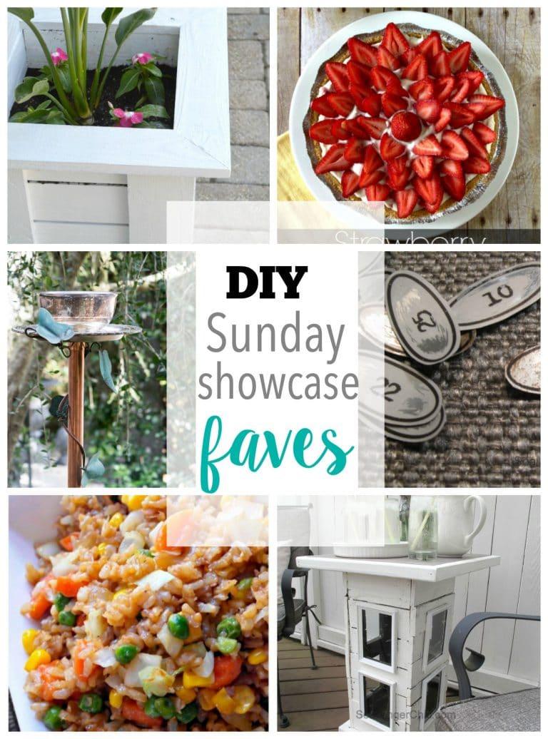 DIY Sunday Showcase 4/9