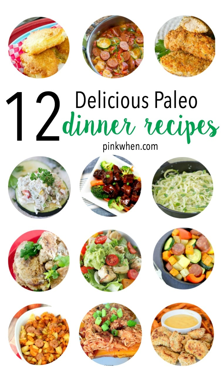 Stick to the Paleo Diet with these yummy Paleo Dinner Recipes.