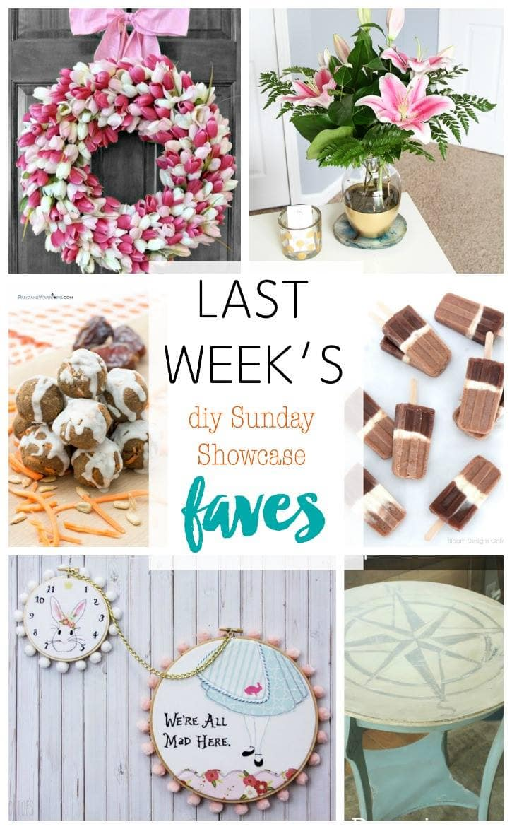 diy Sunday Showcase 4/2, & FAVES!