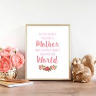 Mother's Day Free Printable