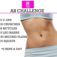 Simple Fit Forty Ab Challenge