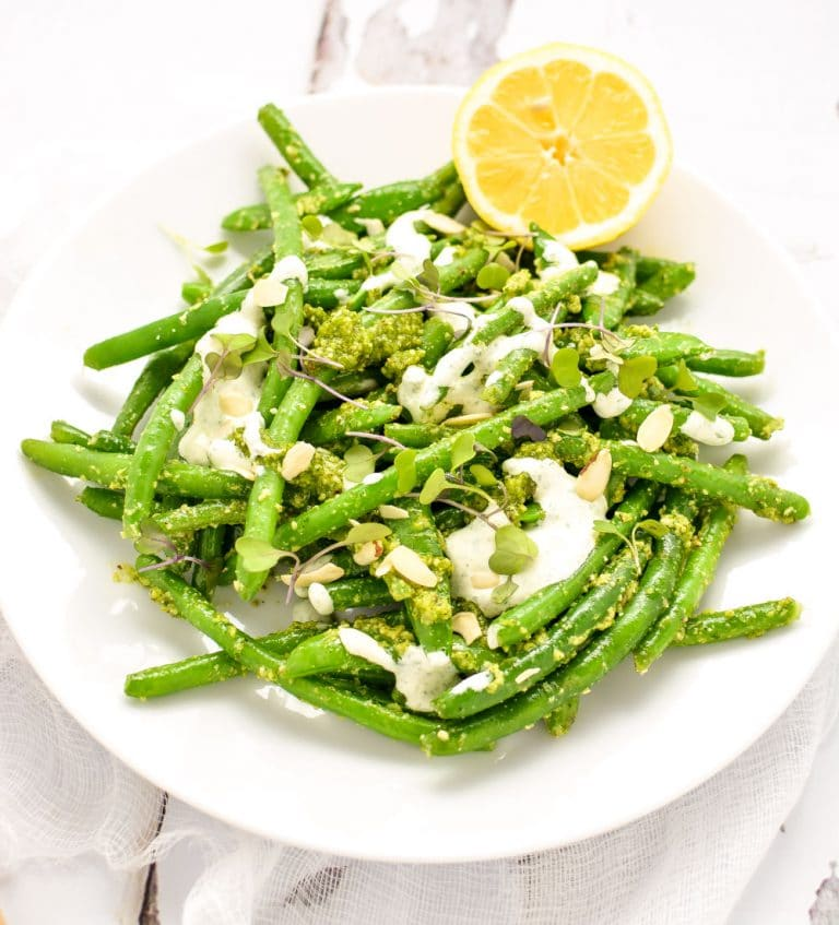 Green Beans With Pistachio Pesto Recipes — Dishmaps