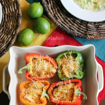 Chicken Fajita Stuffed Bell Pepper