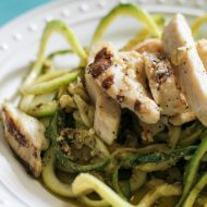 Pesto Chicken Zoodles Recipe