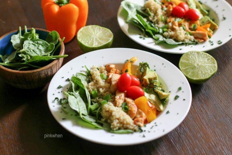 Fajita Grilled Chicken Lunch Bowl 3