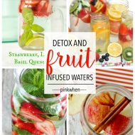 8 Delicious Fruit Infused Detox Waters