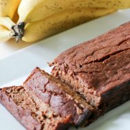 Skinny Chocolate Banana Bread
