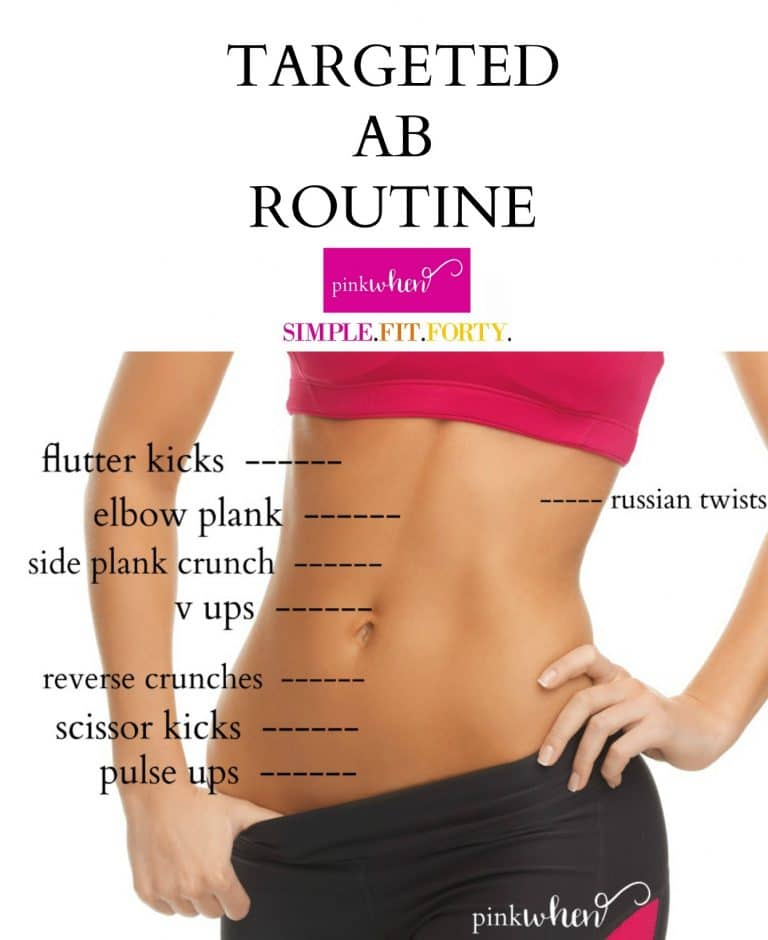 Check out this targeted ab routine that focuses in on specific areas to help slim down and shape up those abs.