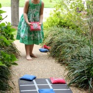 Tic Tac Toe Backyard Bean Bag Toss