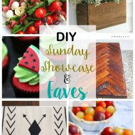 diy Sunday Showcase 6/4, & FAVES