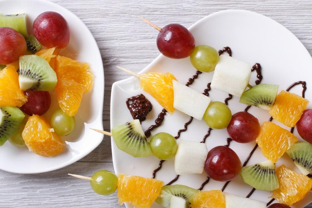 Fruit Skewers - Healthy Summer Snacks