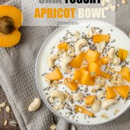 Chia Yogurt Apricot Bowl