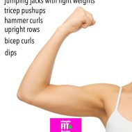 Image Result For Arm Workouts At Home