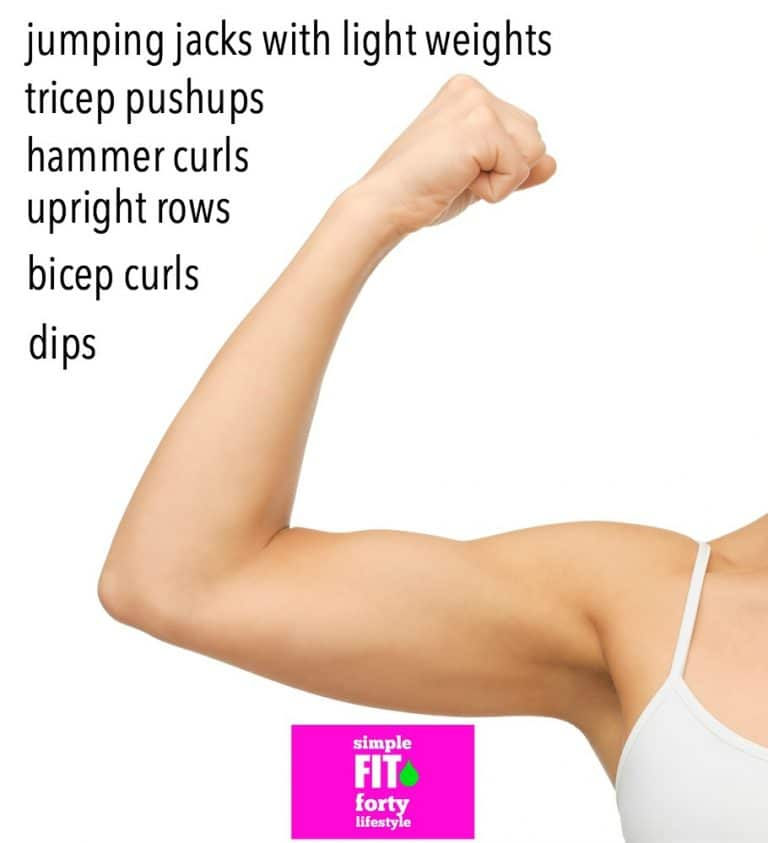 Get rid of the jiggle with these solid toned arm exercises