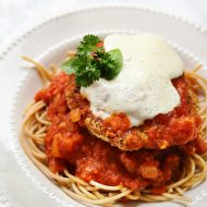 Chicken Parmesan Patty- Eat As A Burger OR On Pasta!