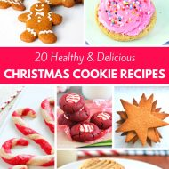 20 Healthy & Delicious Christmas Cookie Recipes