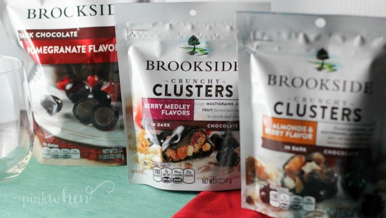 Brookside for all of your dark chocolate party desserts this holiday season.