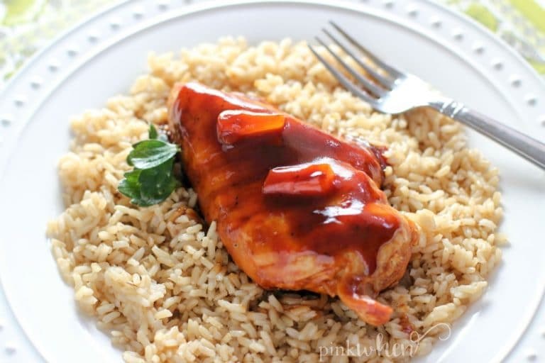 This Instant Pot Hawaiian Chicken recipe is a quick and healthy Instant Pot chicken dish.