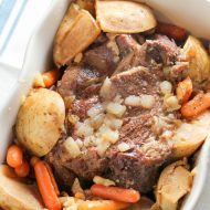 Instant Pot Pressure Cooker Pot Roast Recipe