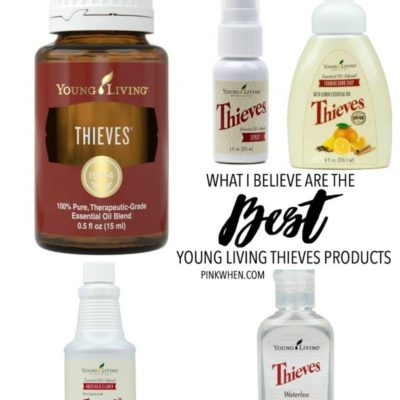 Best Young Living Thieves Products