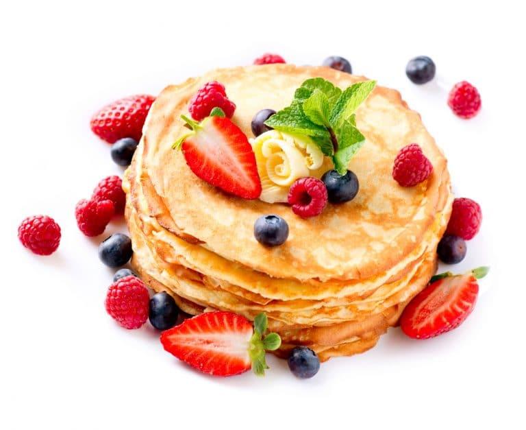 Homemade Buttermilk Pancakes Food Network