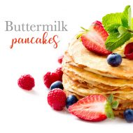 Perfect Buttermilk Pancakes Recipe