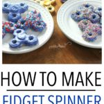 Learn how to make Fidget Spinner Cookies with this delicious sugar cookie recipe, including videos on how to make the cookie mold!