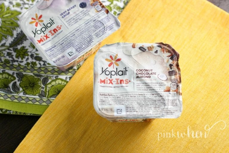 We are mixing things up this Summer with a little Yoplait Mix Ins fun!