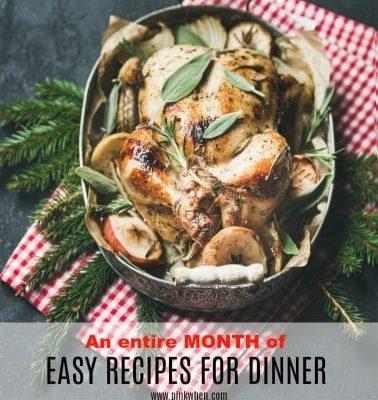 Easy Recipes for Dinner