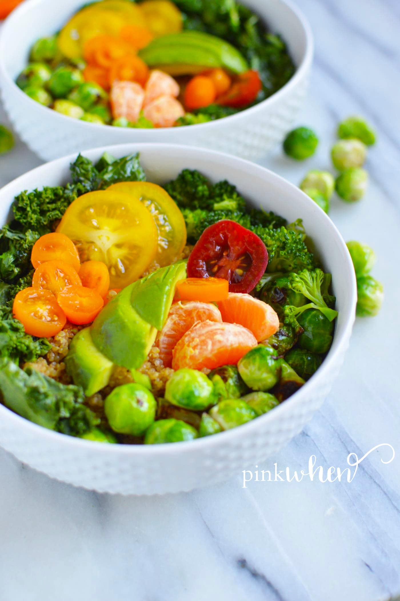 Have you made Quinoa in the Instant Pot? These Instant Pot Quinoa Grain Bowls are amazing, and full of protein, fruits, and vegetables. Healthy and good!