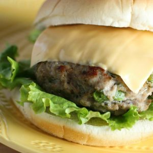 Chicken Ranch Burgers Recipe