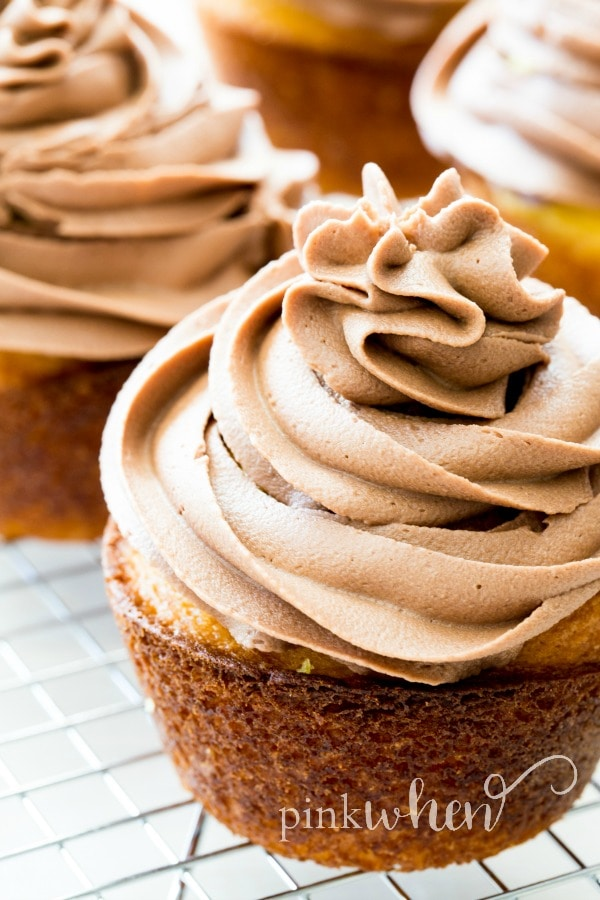 Easy Nutella Frosting 4 Simple Ingredients Pinkwhen