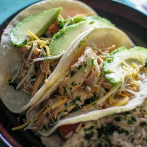 Instant Pot Chicken Tacos Recipe