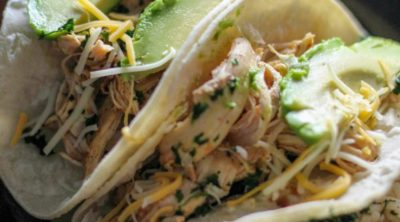 These Instant Pot Chicken Tacos are the best! Take your Instant pot skills to the next level with this recipe.