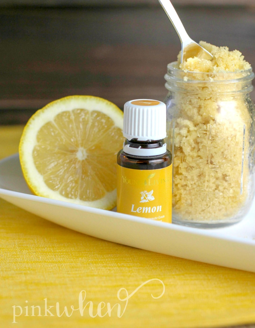 This lemon cake sugar scrub recipe is going to make your skin feel and smell like heaven.