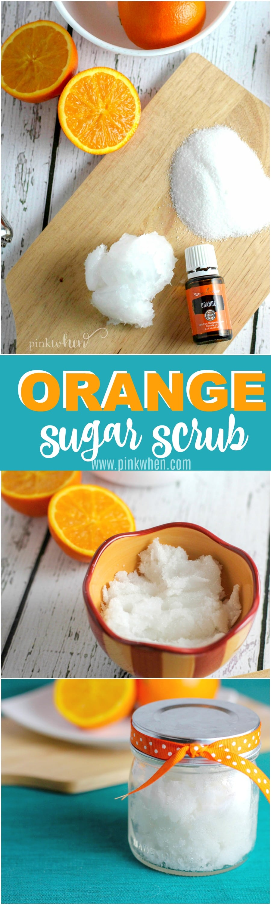 Orange and Coconut Sugar Scrub Recipe - Get ready for bright, healthy, and oh so soft skin!