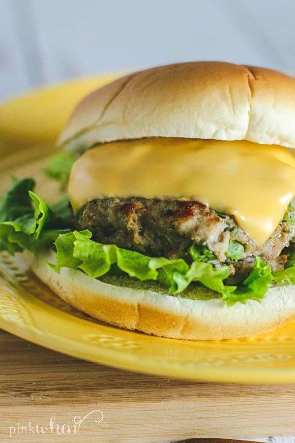 Easy Chicken Ranch Burger Recipe #RanchBurger #ChickenBurger