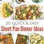 22 Sheet Pan Dinner Ideas