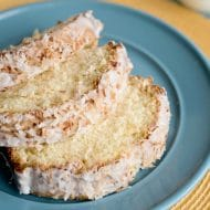 Toasted Coconut Pound Cake Recipe