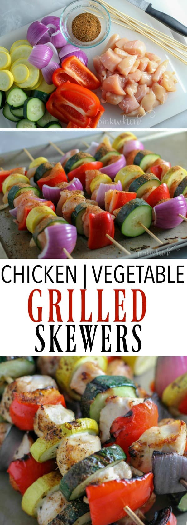 Best Grilled Chicken Recipes - Easy Grilled Chicken Skewers #masteryoursummer #grilledchicken #grilledchickenskewers #easygrilledchicken