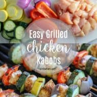 This easy grilled chicken recipe is one of my favorites! Fresh Tyson® Chicken Tenderloins, fresh vegetables, and the perfect seasonings. #masteryoursummer #easygrilledchicken #grilledchickenrecipe #grilledchickenkabobs #grilling