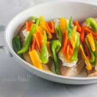 Sweet Pepper Popper Baked Chicken Recipe